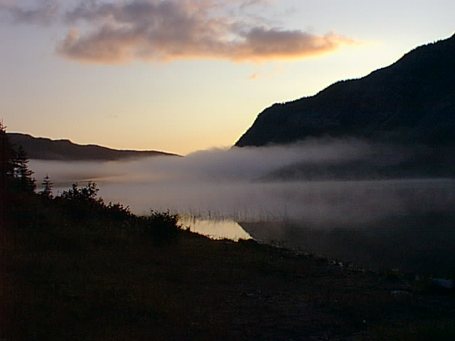 The Mist in Early Morning